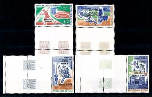 [55416] Mali 1972 Olympic games Football Athletics Overprint Large labels MNH