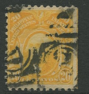 STAMP STATION PERTH Philippines #297 Washington 1917 No Wmk Used CV$0.25