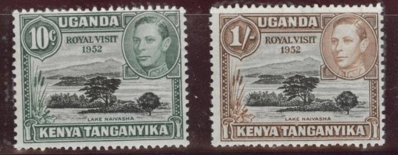 Kenya Uganda and Tanganyika KUT Scott 98-99 MNH**