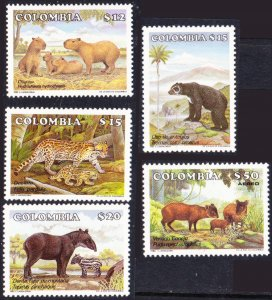 Colombia #943-C758 MH animals