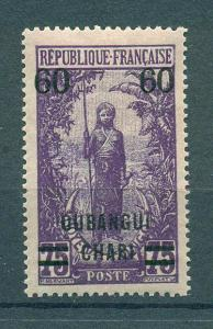 Ubangi-Shari sc# 36 mh cat value $3.50