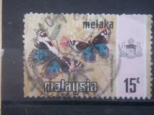 MALACCA, 1971, used 15c, Butterfly, Scott 79