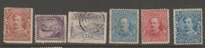 MX-19 Cinderella revenue stamp Costa Rica Mix faults possible see Shipping note