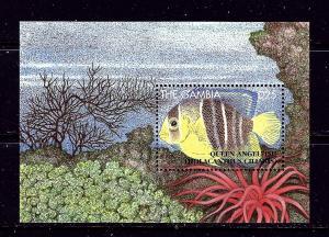Gambia 1624 MNH 1995 Fish S/S