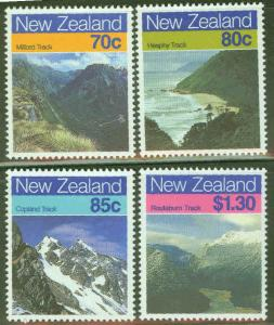 New Zealand Scott 903-6 MH* Mountainscapes