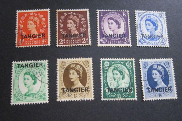 Tangier  SG 289,292,294-295,298,303-305 selected OurRef#w207