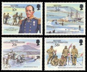 British Antarctic Territory 1987 Scott #137-140 Mint Never Hinged