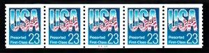 USA PNC SC# 2606 USA $0.23c.PRESORTED FIRST CLASS PL# A4444 W. A. PNC5 MNH