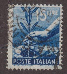 Italy 473a Planting Tree 1946