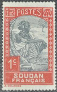 DYNAMITE Stamps: French Sudan Scott #61 – UNUSED