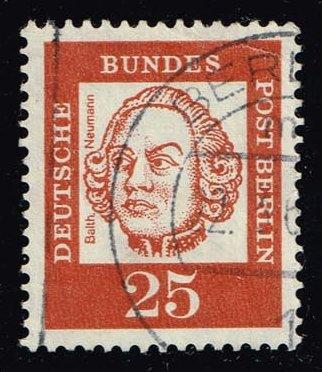 Germany #9N182 Balthasar Neumann; Used (0.35)