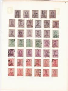 argentina stamps & cancel study page  stamps from 1923 ref r12990