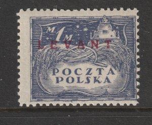 Poland PO's in Levant a MH 1m