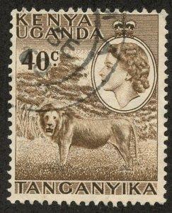 Kenya-Uganda-Tanganiyka, Scott #109, Used