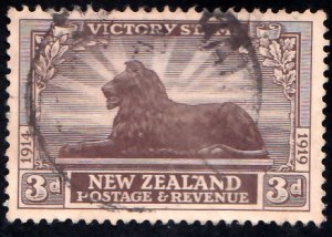 New Zealand Scott 168 Used.