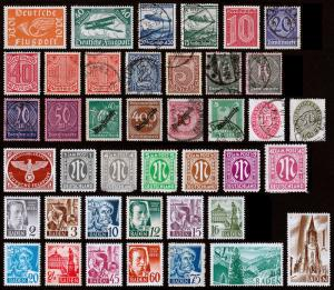 Germany Back-of-the-Book Scott C1 // 5N13 (1919-47) Mint/Used Fine-Very Fine B