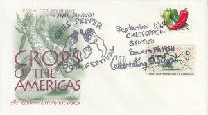 2006 Bowers PA Chili Pepper Fest (Scott 4003) Artcraft Chili Pepper Pictorial