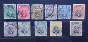Southern Rhodesia 1924 - 1929 values to 2s Fine Used