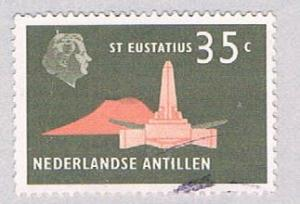 Netherlands Antilles 251 Used Oblisk 1958 (BP32517)