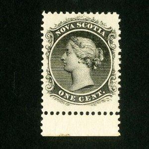 Nova Scotia Stamps # 8 XF Fresh OG NH
