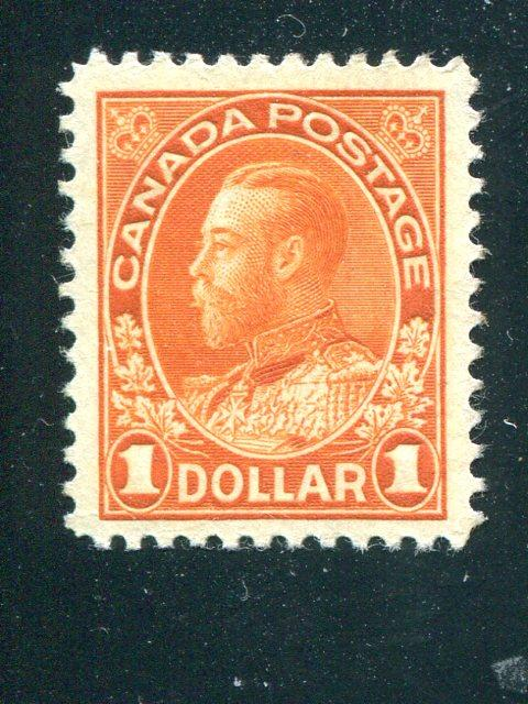 Canada #122 Mint Superb    - Lakeshore Philatelics