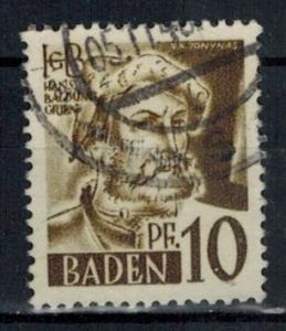 Germany - French Occupation - Baden - Scott 5N17