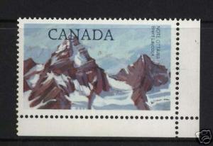 Canada #934 XF/NH With $1 Postes / Postage Missing