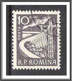Romania #1351 Dam CTO NH