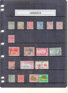 JAMAICA stockpage victoria to george 5th mainly . Values used
