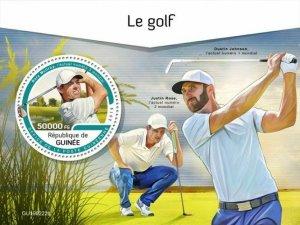 Z08 IMPERF GU190222b GUINEA (Guinee) 2019 Golf MNH ** Postfrisch