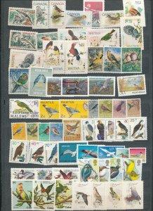 Canada Germany World BIRDS MNH (AD609