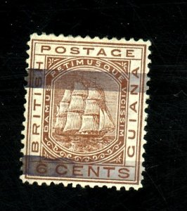 British Guiana #82 Used FVF Cat$135