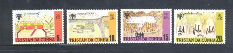 Tristan d Cunha MNH 264-7 International Year Of The Child