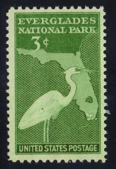 US #952 Everglades National Park, MNH (0.25)