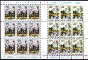 Yugoslavia. 1987. KLB 2811-12. Enviroment protection. MNH.