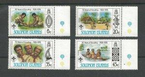 1978 Solomon Islands Boy Scouts 50th anniversary