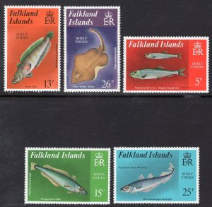 FALKLAND ISLANDS SCOTT 334-338
