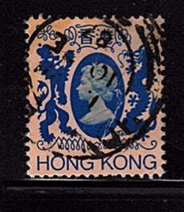 Hong Kong - #399 Queen Elizabeth II - Used