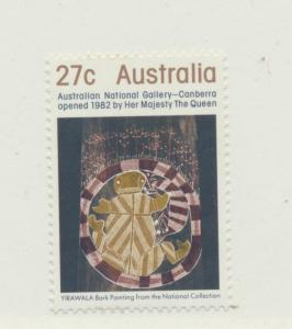 Australia Scott #847, National Gallery Issue From 1982 - Free U.S. Shipping, ...