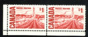 Can #465B   Pair   M NH VF 1967-73 PD