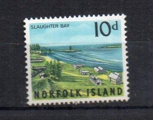NORFOLK ISLAND - SLAUGHTER BAY - 1964 - 10d -