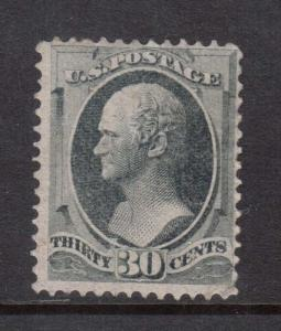 USA #165 Mint Regummed To Look Never Hinged