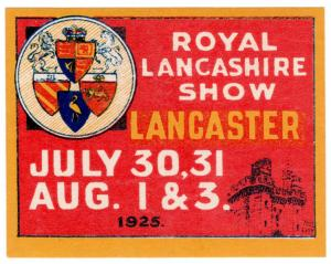 (I.B) Cinderella Collection : Royal Lancashire Show (1925)