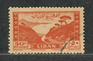 Lebanon Sc#147B Used/VF, High Value, Cv. $35