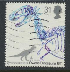 Great Britain SG 1575    Used  - Dinosaurs