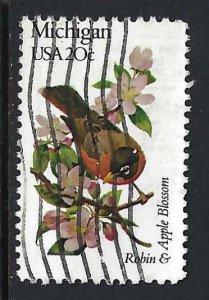 UNITED STATES 1974 VFU BIRD S363-10