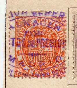 Spain 1872-73 Early Issue Fine Used 10c. NW-16577