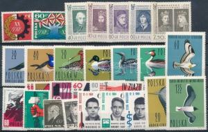 Poland stamp 27 diff stamps with sets MNH 1964 WS235883