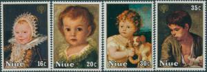 Niue 1979 SG278-281 IYC set MNH