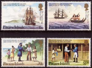Pitcairn Islands 1983 175th Anniv Folger's Discovery of the Settlers MNH
